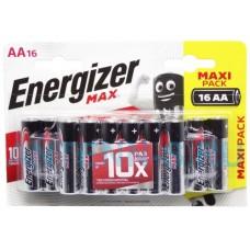 Батарейки  Energizer LR6 Max BL16  цена за 1 шт.