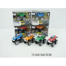 Машина металл 4 цвета K122A-5 коробка 13*6*9 см /288шт//144шт/ [811771]