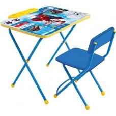 Комплект детской мебали Disney 2 Человек-Паук (стол+стул мяг.)