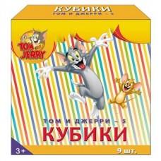 Кубики Том и Джерри-5 9 штук