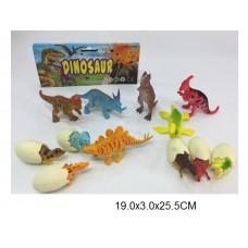 Набор динозавров 636D-1 пакет 19*3*25.5 см /120шт//60шт/ [936936]