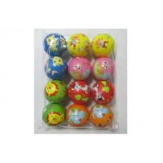 Мяч с рис 5 см в упаковке 12шт 6321 в пакете