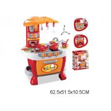 Игровой набор кухня  свет звук 008-801A коробка 62.5*51.5*10.5 см /5шт//шт/ [720935]