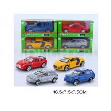 Машина металл 4 вида ML63201 коробка 16,5*7,5*7,5 см /192шт.//96шт./ [896316]