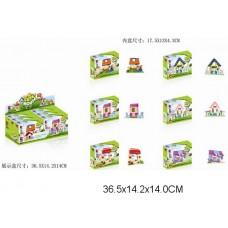 Конструктор 6 видов для девочек 16003  в уп 6шт коробка 17*4,5*13 см /16уп//бл/ [812903]