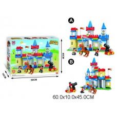 Конструктор Крепость 168 деталей 188-151 в коробке