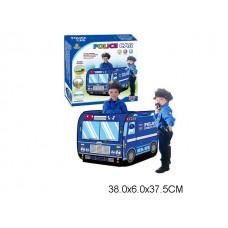 Палатка детская полицейская  машина