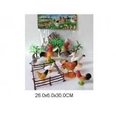 Набор домашних животных 2C214-4 пакет 26*6*30см /108шт//54шт/ [732109]