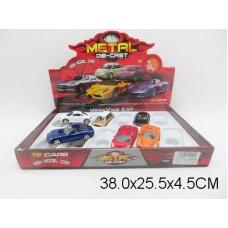 Машина инерционная, металлическая,1:43, HY43111, в коробке 12 шт