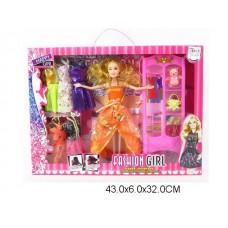 Кукла с платьями, DF1610, в коробке, 43*6*32 см