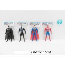 Супергерой 15 см 3 вида свет 1805-1 в пакете