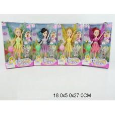 Кукла 4 вида, 973, в коробке, 18*5*27 см