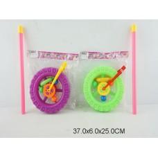 Каталка колесо на палке 2 цвета 189C пакет 37*6*25 /96шт//48шт/ [878751]