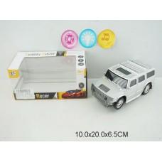 Машина на бат свет звук 6601A коробка 10*20*6,5 см /144шт.//72шт./ [886191]