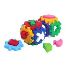 Куб Умный малыш Веселая компания 17*10*10 см