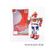 Робот на бат со светом  00921A коробка 19*10*31 см /30шт//15шт/ [904336]