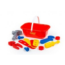 Набор Механик 12 элементов в корзинке