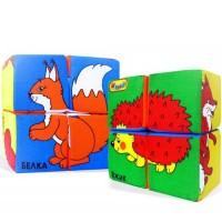 Кубики Мякиши Собери картинку (Домашние животные)