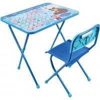 Комплект детский, складной Азбука 4: Маша и Медведь (стул+стол)