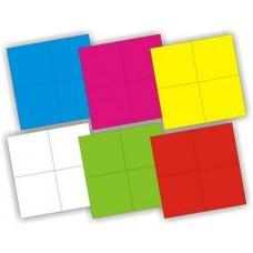 Кубики Изучаем цвета 4 штуки