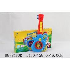 Гитара на бат с набором муз инстр 9763 в коробке