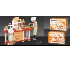 Игровой набор кухня с аксессуарами, световые и звуковые эффекты в коробке 62*43*16 см