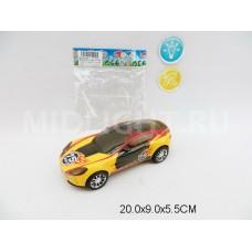 Машина 3D, инерционная, световые и звуковые эффекты, XZ-204A,  в пакете, 20*9*5,5 см