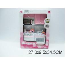 Набор мебели для кукол кухня, 26213P/R, световые и звуковые эффекты, в коробке, 27*10*35 см