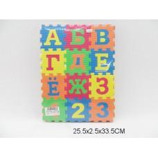 Коврик-пазл мягкий азбука TH-66302 в пакете