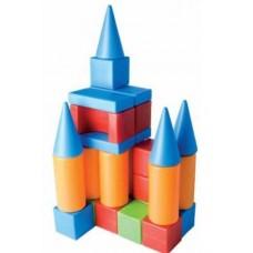 Набор строительный Хуторок- М 20 деталей в пакете