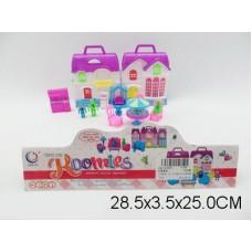 Дом для кукол,13165, в пакете, 29*4*25 см