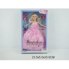 Кукла 2 цвета 502A коробка 24*5*33 см /72шт//36шт/ [835037]