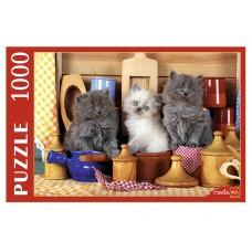 Пазлы 1000 эл.Котята на кухне