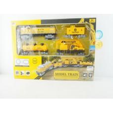 Железная дорога на батарейках, световые и звуковые эффекты, PYH9, в коробке, 69*10*44 см