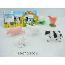 Набор домашних животных в пакете
