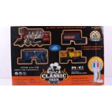 Железная дорога на радиоуправлении световые и звуковые эффекты в коробке