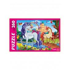 Пазлы 260 эл. Веселые пони