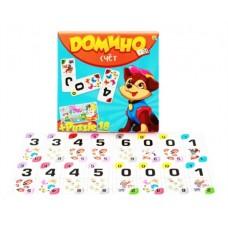Домино + пазлы 18 элементов, Счет
