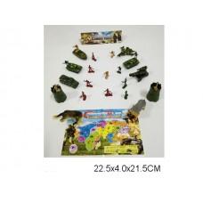 Набор армии YD220 пакет 23*4*22см /210шт.//105шт./ [885303]