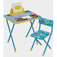 Комплект мебели Ники складной Большие гонки синий