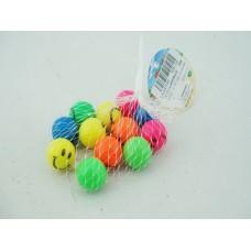 Мяч прыгун каучуковый 2,7 см в уп 12 штук 624-13A в сетке