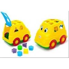 Автомобиль-логика Микроавтобус (27шт) 230х155х160 мм