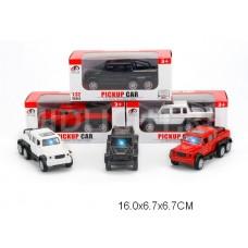 Машина 1:32 металл свет звук открываются двери 988-39 коробка 16*6,7*6,7 см /144шт.//72шт./ [954596]
