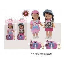 Кукла, 335-42A, с аксессуарами, в пакете, 25 см