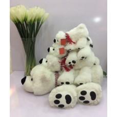Медведь Умка с шарфом 28 см