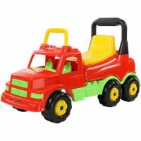 Каталка-автомобиль Буран №1 (красная) 69х28,5х41,5 см