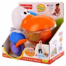 Каталка-игрушка Fisher Price Вперед, малыш, вперед - Пеликан