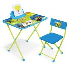Комплект детской мебели Disney 2 Зверополис (стол+стул мяг.)