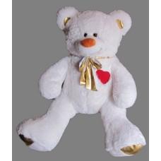 Медведь с сердцем на груди 75 см