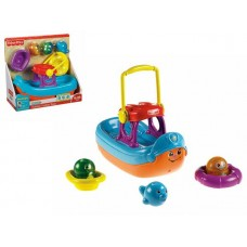 Игрушка 9850W для купания Лодка Fisher-Price